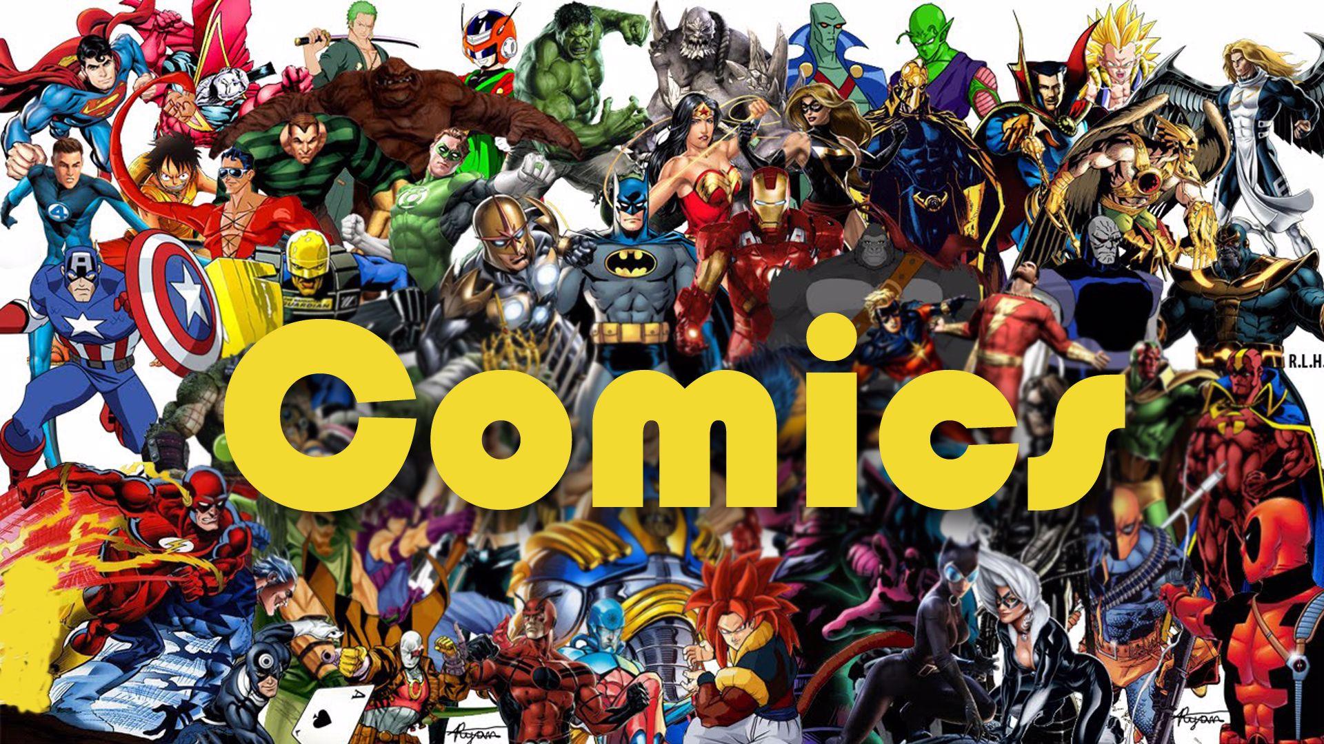 תמונה עבור הקטגוריה קומיקס Comics