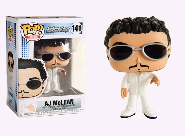Funko Pop - AJ McLEAN (Backstreet Boys) 141 בובת פופ בקסטריט בויז