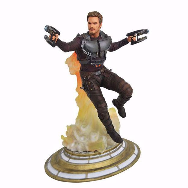 "Star Lord  9"" PVC Figure פסל סטאר לורד"