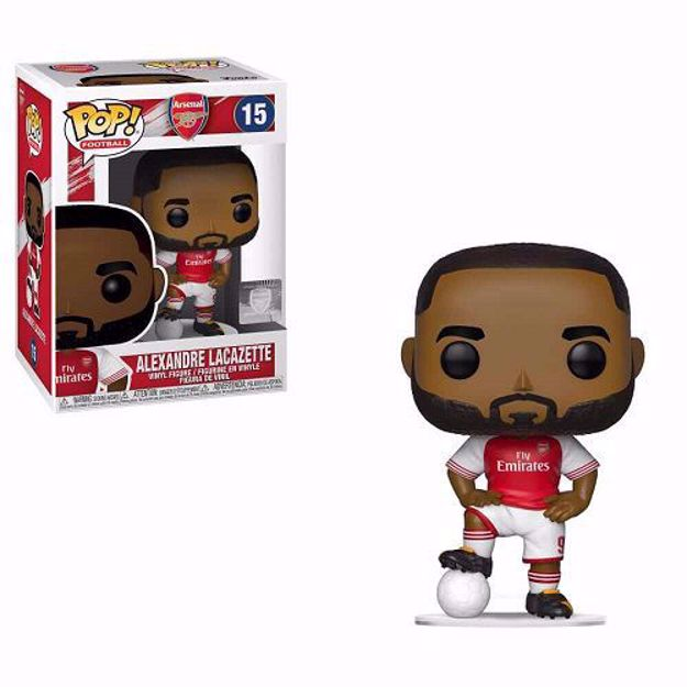 Funko Pop - Alexandre Lacazette (Arsenal) 15  בובת פופ