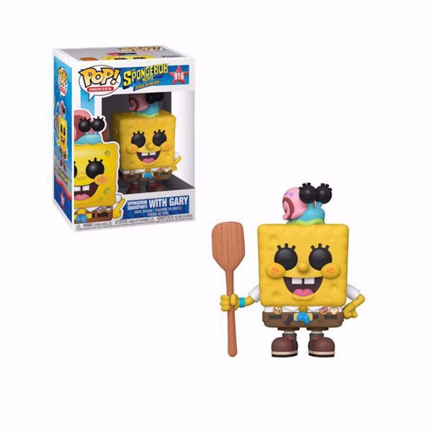 Funko Pop - Spongebob With Gary (Spongebob) 916 בובת פופ בוב ספוג