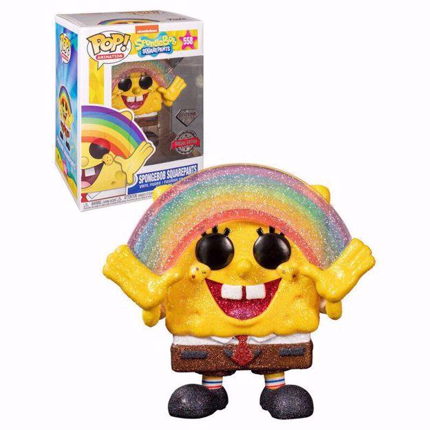 Funko Pop - Spongebob SE Diamond (Spongebob) 558 בובת פופ בוב ספוג