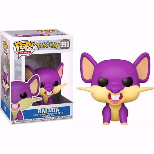 Funko Pop - Rattata (Pokemon) 595 בובת פופ פוקימון רטאטה