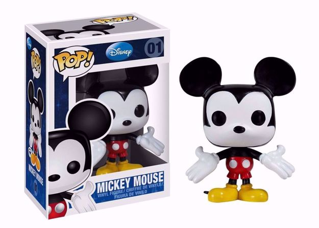 Funko Pop - Mickey Mouse  (Disney) 01 בובת פופ מיקי מאוס