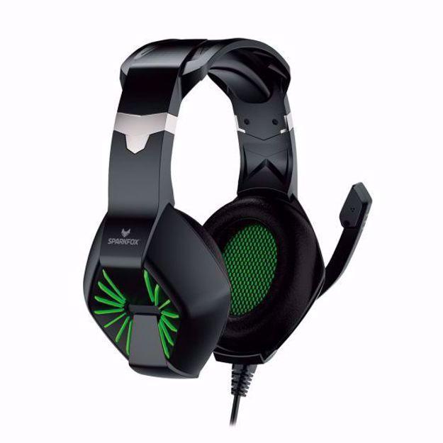 אוזניות גיימינג SPARKFOX A1 ירוק