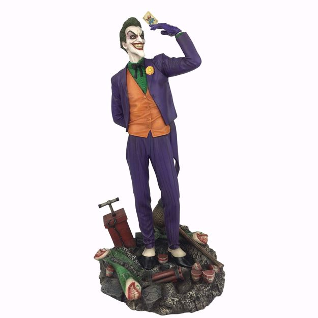 "The Joker  9"" PVC Figure - פסל הג'וקר ארקהם"