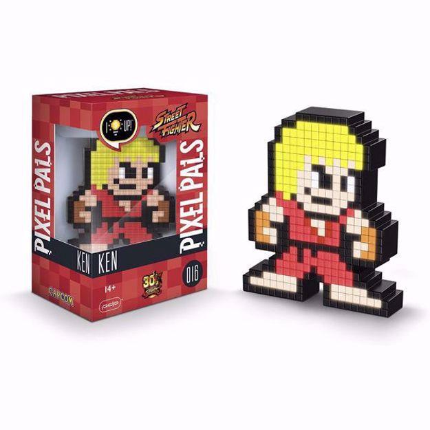 Pixel Pals - Ken (Street Figher) 016 מנורת פיקסל סטריט פייטר