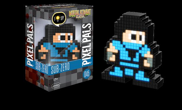 Pixel Pals - Sub Zero (Mortal Kombat) 045 מנורת פיקסל מורטל קומבט
