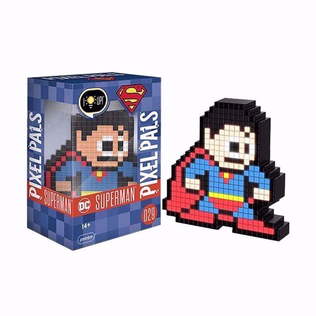 Pixel Pals - Superman (DC) 029 מנורת פיקסל סופרמן