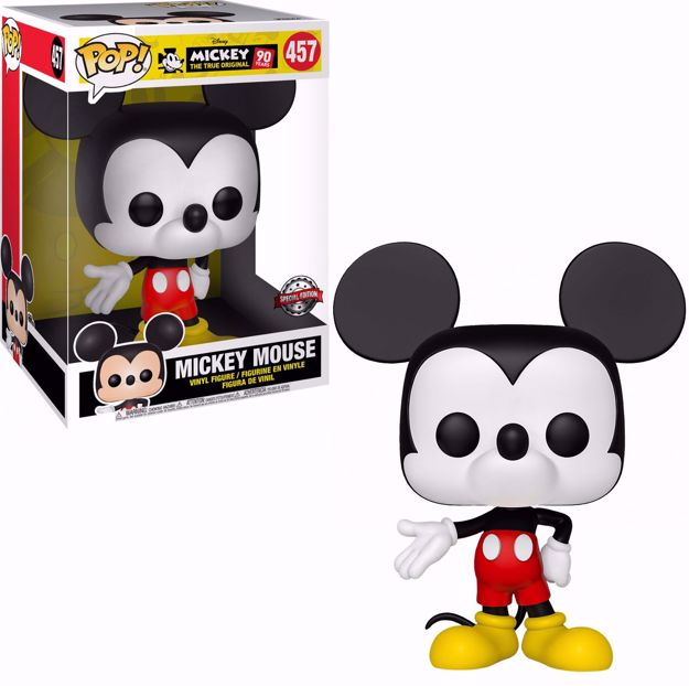 "Funko Pop - Mickey Mouse 10"" (Disney) 457  בובת פופ מיקי מאוס"