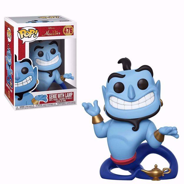 Funko Pop - Genie With Lamp  (Aladdin) 476  בובת פופ ג'יני אלאדין