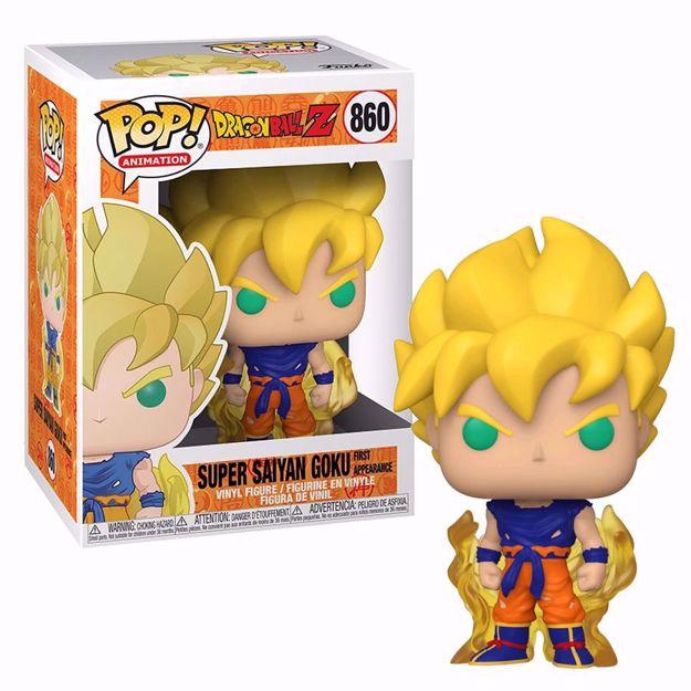 Funko Pop - Super Saiyan Goku (Dragon Ball) 860  בובת פופ  דרגון בול