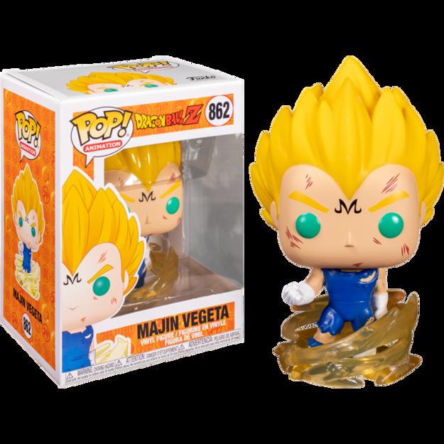 Funko Pop - Majin Vegeta (Dragon Ball) 862  בובת פופ  דרגון בול