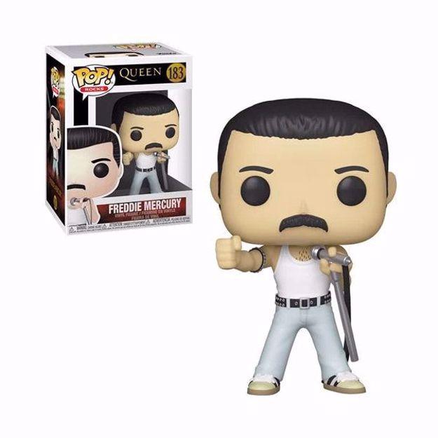 Funko Pop - Freddie Mercury (Queen) 183 בובת פופ פרדי מרקיורי
