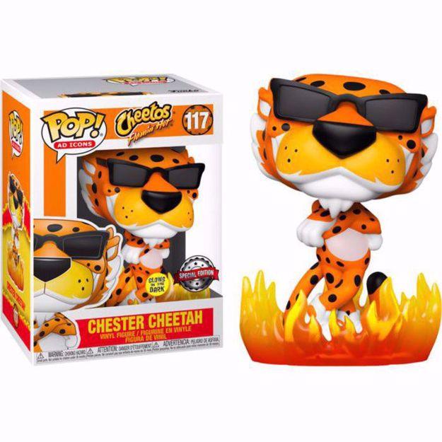Funko Pop - Chester Cheetah GITD SE (Icons) 117 בובת פופ צ'סטר צ'יטה