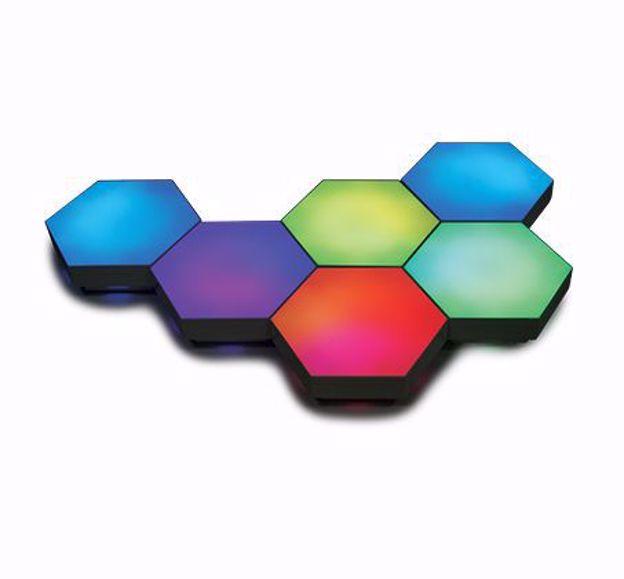 לבני תאורה דקורטיביים DRAGON דגם MODULAR LED BRICK RF
