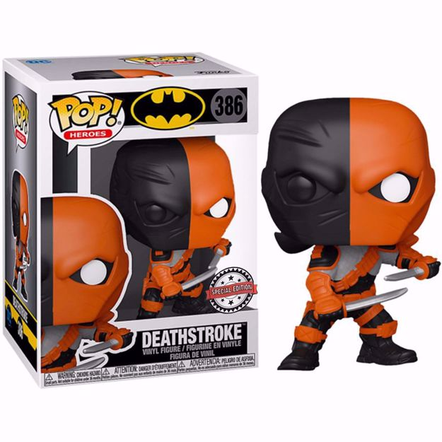 Funko Pop - Deathstroke SE (Batman) 386 בובת פופ דת'סטרוק